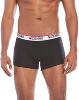 Moschino Logo Waistband Trunks