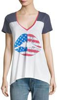 Chaser American Kiss Jersey Tee