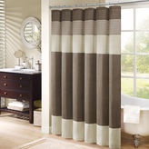 JCPenney Amherst Madison Park Eastridge Pleated Shower Curtain