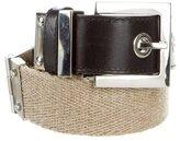 Dolce & Gabbana Two-Tone Waist Belt