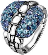 John Hardy Women's Kali Blue Topaz & Iolite Statement Ring