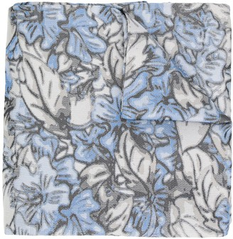 Issey Miyake Pre Owned 1990's Floral Scarf