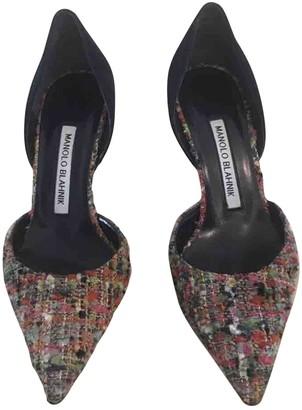 Manolo Blahnik \N Multicolour Tweed Heels