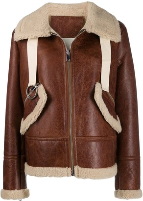 Liska shearling lined jacket