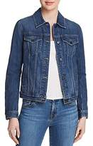J Brand Slim Denim Jacket in Astonish Destruct
