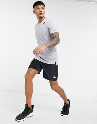 adidas Training t-shirt in gray