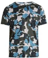 Newline Camouflage-print Running T-shirt