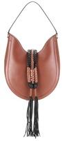 Altuzarra Ghianda Knot Hobo Small Leather Shoulder Bag