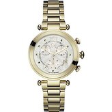 Gc Guess Collection Women's Lady Chic Gold Plated Bracelet Quartz Watch Y05008m1