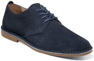 Nunn Bush Gordy Men's Suede Plain Toe Casual Oxford Shoes
