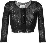 Maison Margiela distressed cropped cardigan