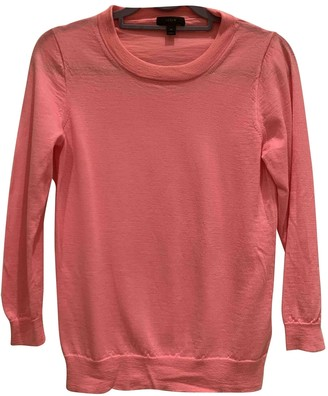J.Crew Pink Wool Knitwear for Women