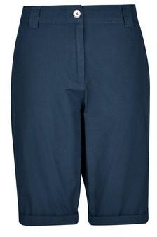 Dorothy Perkins Womens Navy Knee Shorts, Navy