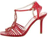 Christian Dior Stud-Embellished Cage Sandals