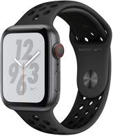Apple Watch Nike+ Series 4 (GPS + Cellular), 44mm Space Grey Aluminium Case With Anthracite/Black Nike Sport Band