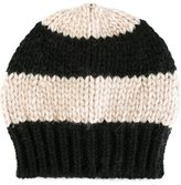 Danielapi striped knit beanie - unisex - Polyamide/Wool/Alpaca - One Size