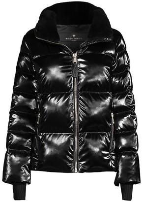Nicole Benisti Kensington Shearling-Lined Puffer Jacket