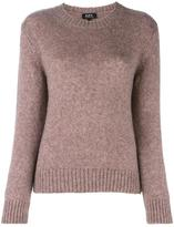 A.P.C. round neck jumper