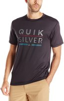 Quiksilver Men's Fully Stacked Short Sleeve Rash Guard