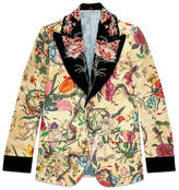 Flora Snake Heritage jacket with detachable lapel