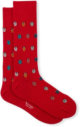 Paul Smith Men's Osgood Ladybug Socks