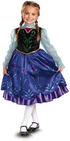 Disguise Frozen Anna Traveling Deluxe Costume (Toddler, Little Girls, & Big Girls)