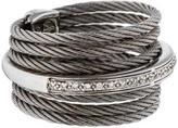 Charriol ALOR Diamond & Cable Ring