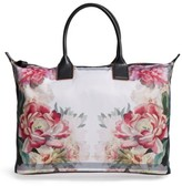 Ted Baker Large Painted Posie Tote - Pink