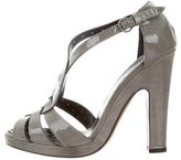 Moschino Cheap & Chic Moschino Cheap and Chic Patent Leather Sandals