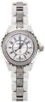 Chanel J12 Quartz 33mm White Ceramic Watch