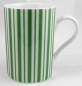 Konitz Caunitz) Basic Stripes Dark Green Mug 111 003 0742 (japan import)