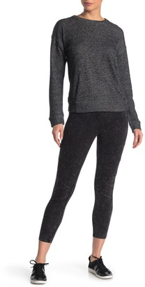 Andrew Marc Mineral Wash 7/8 Seam Leggings