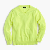 J.Crew Kids' cashmere V-neck sweater