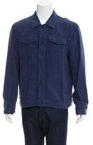 Zegna Sport Linen Shirt Jacket