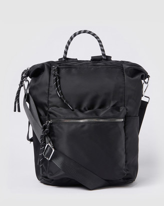 Urban Originals Women's Black Backpacks - Wild Horses Backpack - Size One Size at The Iconic