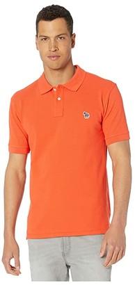 Paul Smith Regular Fit Short Sleeve Polo Shirt (Green) Men's Clothing