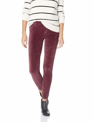 Lucky Brand Women's MID Rise AVA Super Skinny Velvet Jean in Winetasting 25 (US 0)
