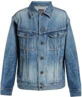 Saint Laurent Oversized denim jacket