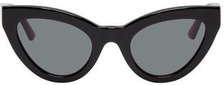McQ Black Cult Cat-Eye Sunglasses