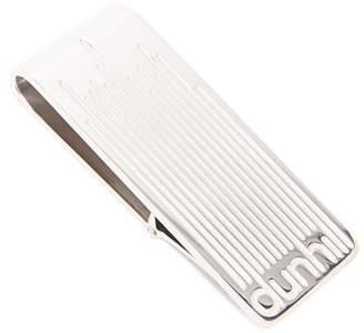 Dunhill Longstripe Logo-engraved Silver Money Clip - Silver