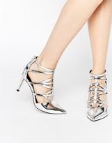 Asos SYNC Caged Heels