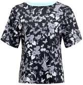 Rohnisch BODIL Print Tshirt black butterfly