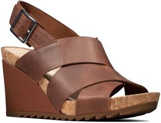 Clarks Flex Platform Wedge Sandal