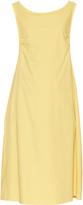 Rochas Cotton-poplin bow-detail dress