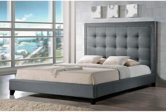 Baxton Studio Design Studios Hirst King Platform Bed
