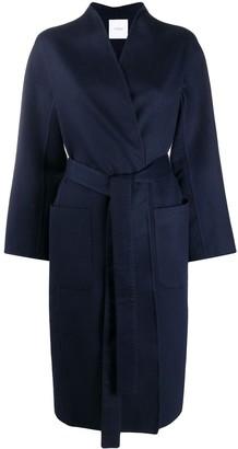 Agnona Tie-Waist Cashmere Coat