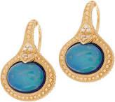 Judith Ripka 14K Gold Opal Doublet & DiamondEarrings