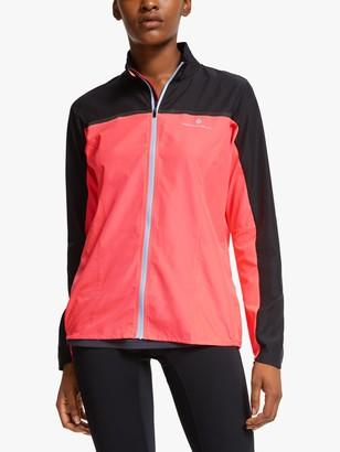 Ronhill Tech Windspeed Women's Running Jacket, Hot Pink/Black
