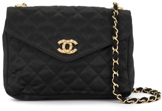 Chanel Pre Owned '85-93s Quilted Chain Shoulder Bag