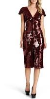 Dress the Population Elizabeth Sequin Midi Dress